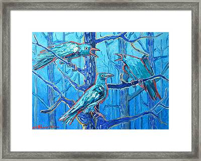 Pick Me ..... They're Crazy Framed Print by Ana Maria Edulescu