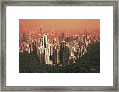 Pick-up Sticks Framed Print