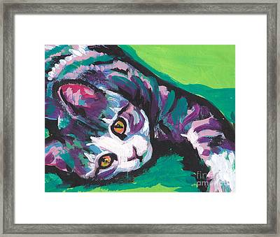 Pick Up The Tab Framed Print by Lea S