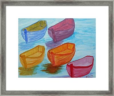 Pick Your Boat Framed Print