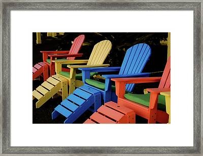 Pick Your Color Framed Print by JAMART Photography