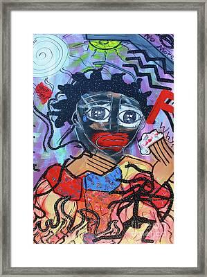 Pickaninny Tears Framed Print