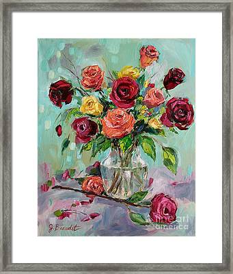 Framed Print featuring the painting Picked For You by Jennifer Beaudet
