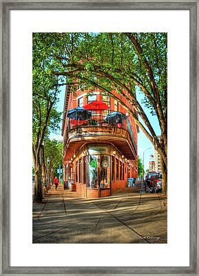Pickel Barrel 2 Chattanooga Tennessee Cityscape Art Framed Print by Reid Callaway