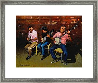 Pickers Framed Print by Doug Strickland