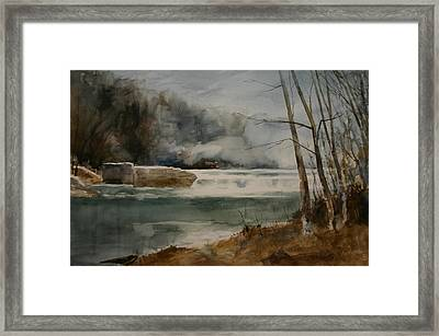Picketts Dam Framed Print by Don Cull