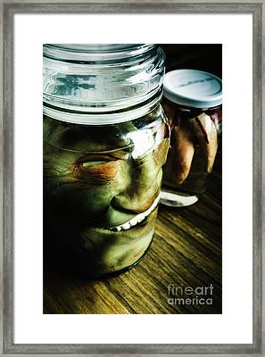 Pickled Monsters Framed Print