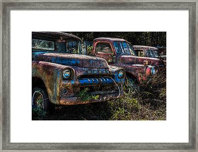 Pickup Line Framed Print