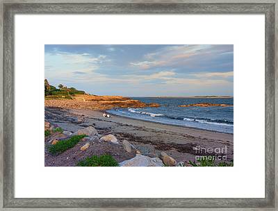 Picnic At Sunset Framed Print