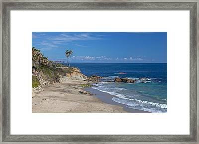 Picnic Beach Framed Print by Cliff Wassmann