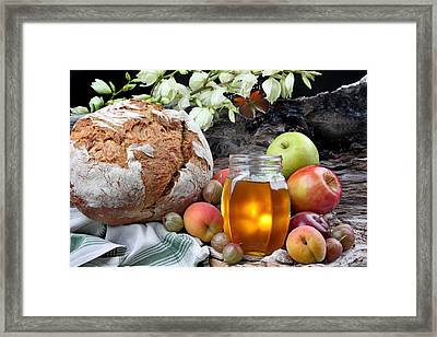 Picnic Framed Print by Manfred Lutzius