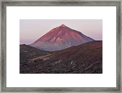 Morning Volcano Framed Print by Marek Stepan