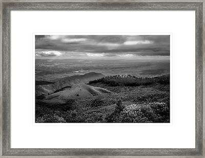 Pico Do Itapeva-pindamonhangaba-sp Framed Print