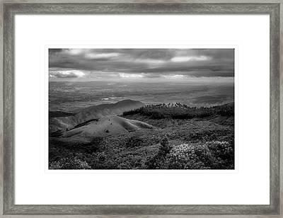 Pico Do Itapeva-pindamonhangaba-sp Framed Print
