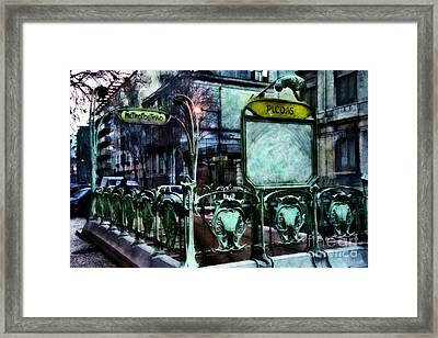 Framed Print featuring the photograph Picoas by Dariusz Gudowicz