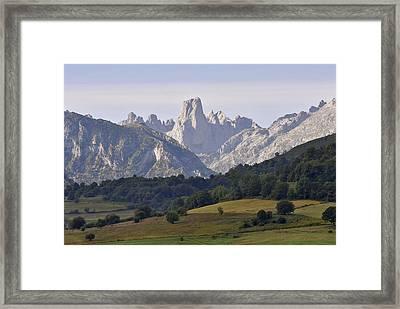 Famous Peak Framed Print