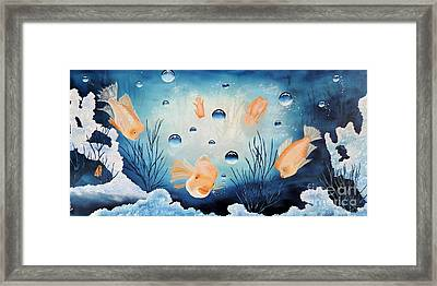 Picses Framed Print by Dianna Lewis