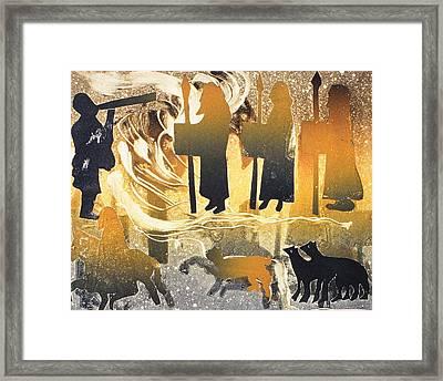 Pictish Melody Framed Print