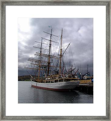 Picton Castle In Lunenburg Framed Print by George Cousins