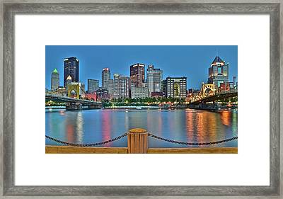 Picture Perfect Pittsburgh Framed Print