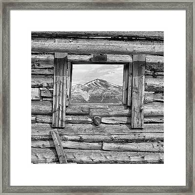 Picture Window #2 Framed Print by Eric Glaser