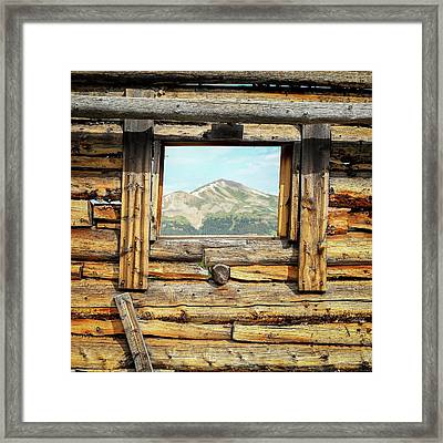 Picture Window #1 Framed Print