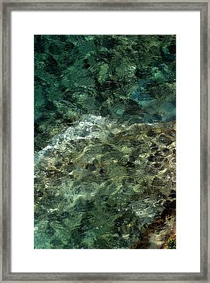 Framed Print featuring the photograph Pictured Rocks II by Kenneth Campbell