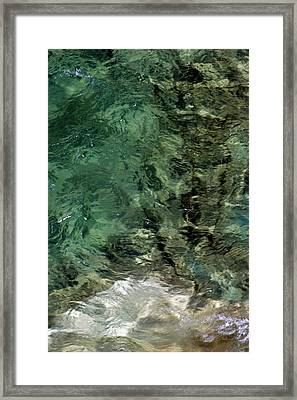 Framed Print featuring the photograph Pictured Rocks IIi by Kenneth Campbell