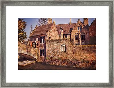 Picturesque Bruges  Framed Print by Carol Japp