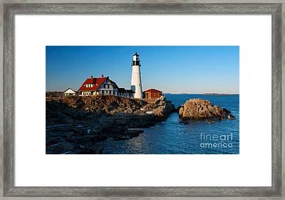 Picturesque Lighthouse II Framed Print by Hideaki Sakurai