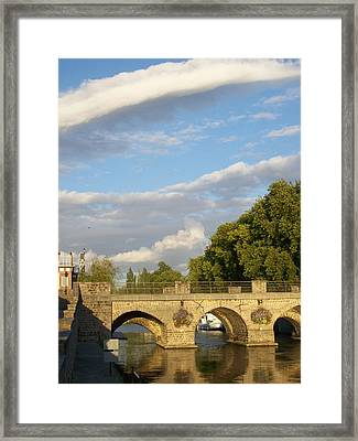 Framed Print featuring the photograph Picturesque by Mary Mikawoz