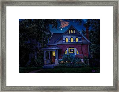 Picutre Window Framed Print