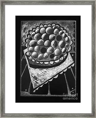 Pie Framed Print