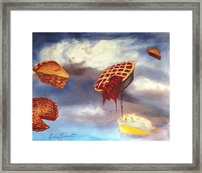 Pie In The Sky Framed Print