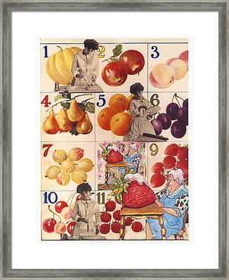 Pie Ladies Framed Print by Marcia Masino