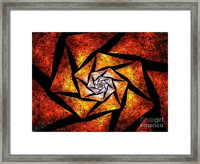 Piece By Piece Framed Print by Steve K