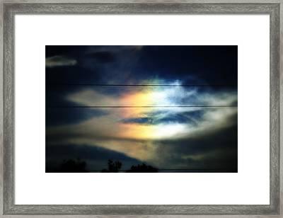 Piece Of The Rainbow Framed Print by Mandy Shupp