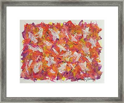 Piecefall  Framed Print