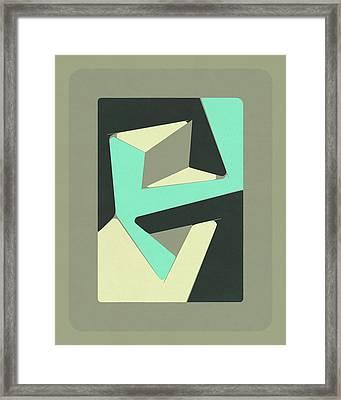 Pieces #2 Framed Print