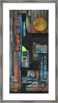 Pieces IIi Framed Print by Ralph Levesque