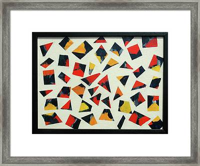 Pieces Of Art Framed Print