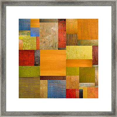 Pieces Project Ll Framed Print by Michelle Calkins
