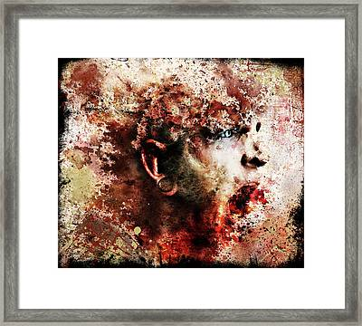 Pieces Framed Print by Robert  Adelman