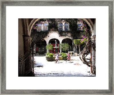 Pied Piper Two Framed Print