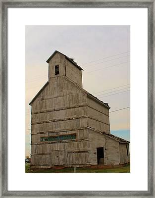 Piedmont Granery Framed Print by John Adams