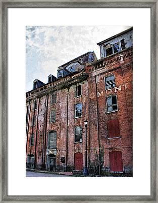 Piedmont Mill Framed Print