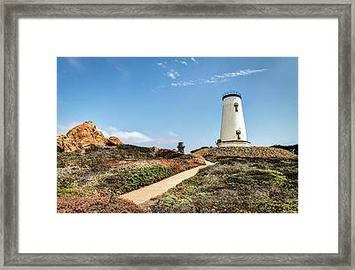 Piedras Blancas Light Station Framed Print