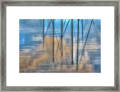 Pier 38 Framed Print