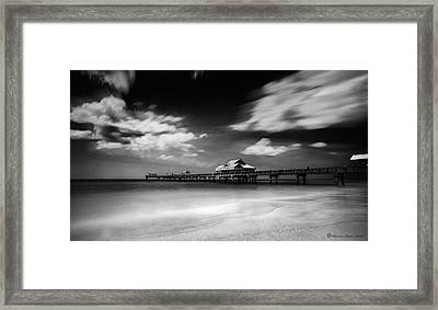 Pier 60 Framed Print by Marvin Spates