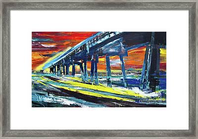 Pier #9 Framed Print